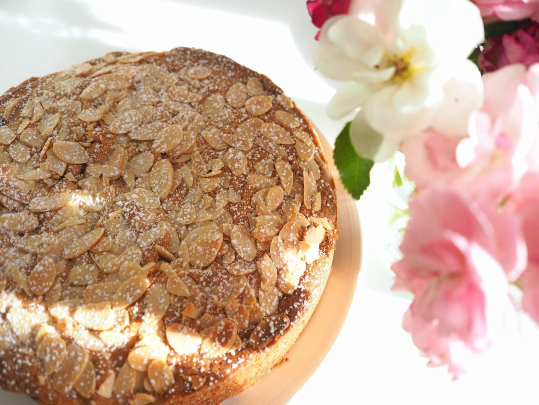 RASPBERRY ALMOND CAKE RECIPE | Megan Taylor