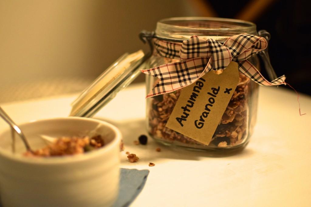 Autumnal Granola Recipe