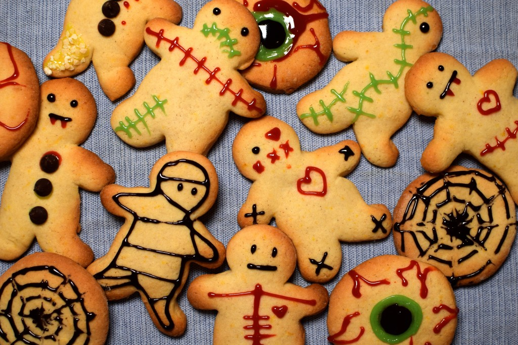 Spiced Halloween Biscuits