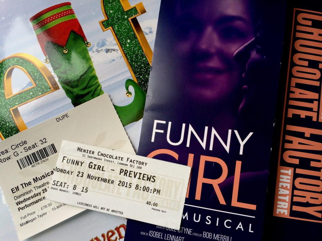 Christmas Theatre Trips
