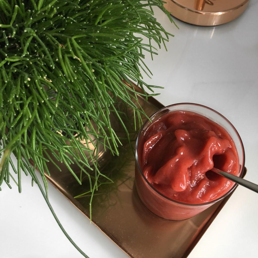 Frozen Fruit Smoothie Recipe
