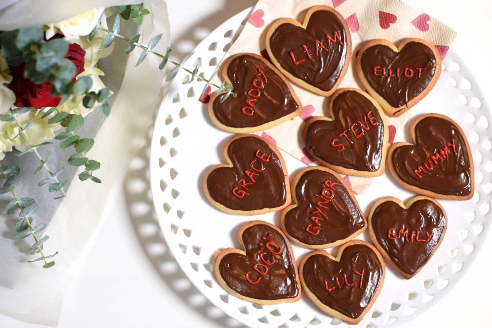 Speedy Valentine's Day Biscuits