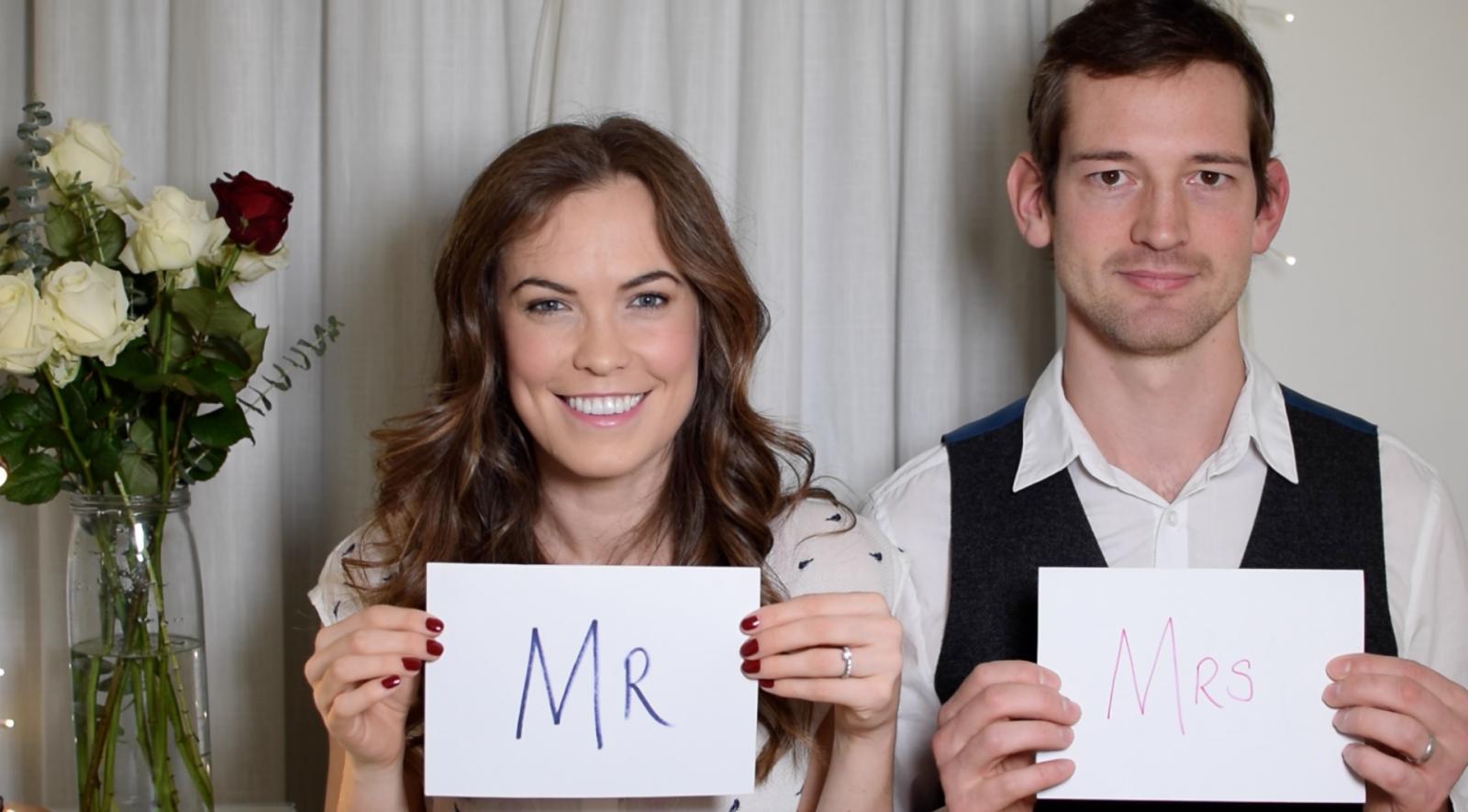 Valentine's Day Mr & Mrs Special