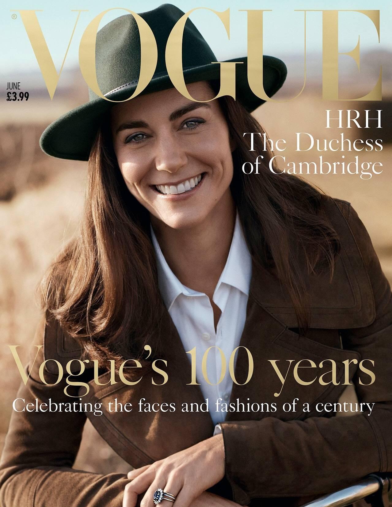 June 2016 Favourites | Megan Taylor | Kate Middleton Vogue Front Cover