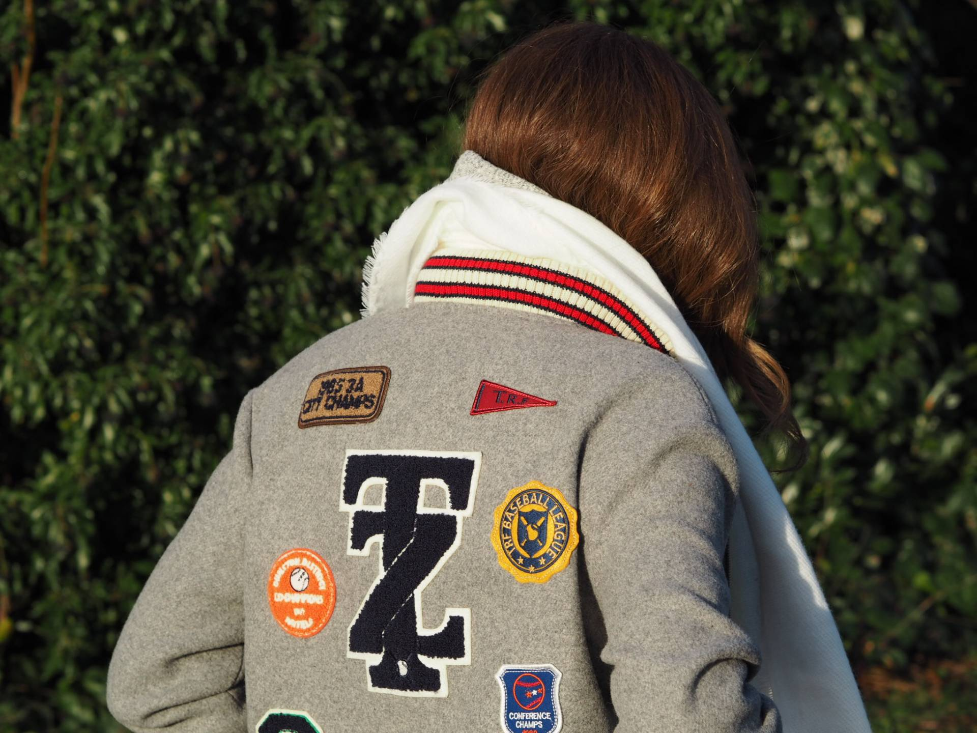 How To Wear A Letterman Jacket | Megan Taylor