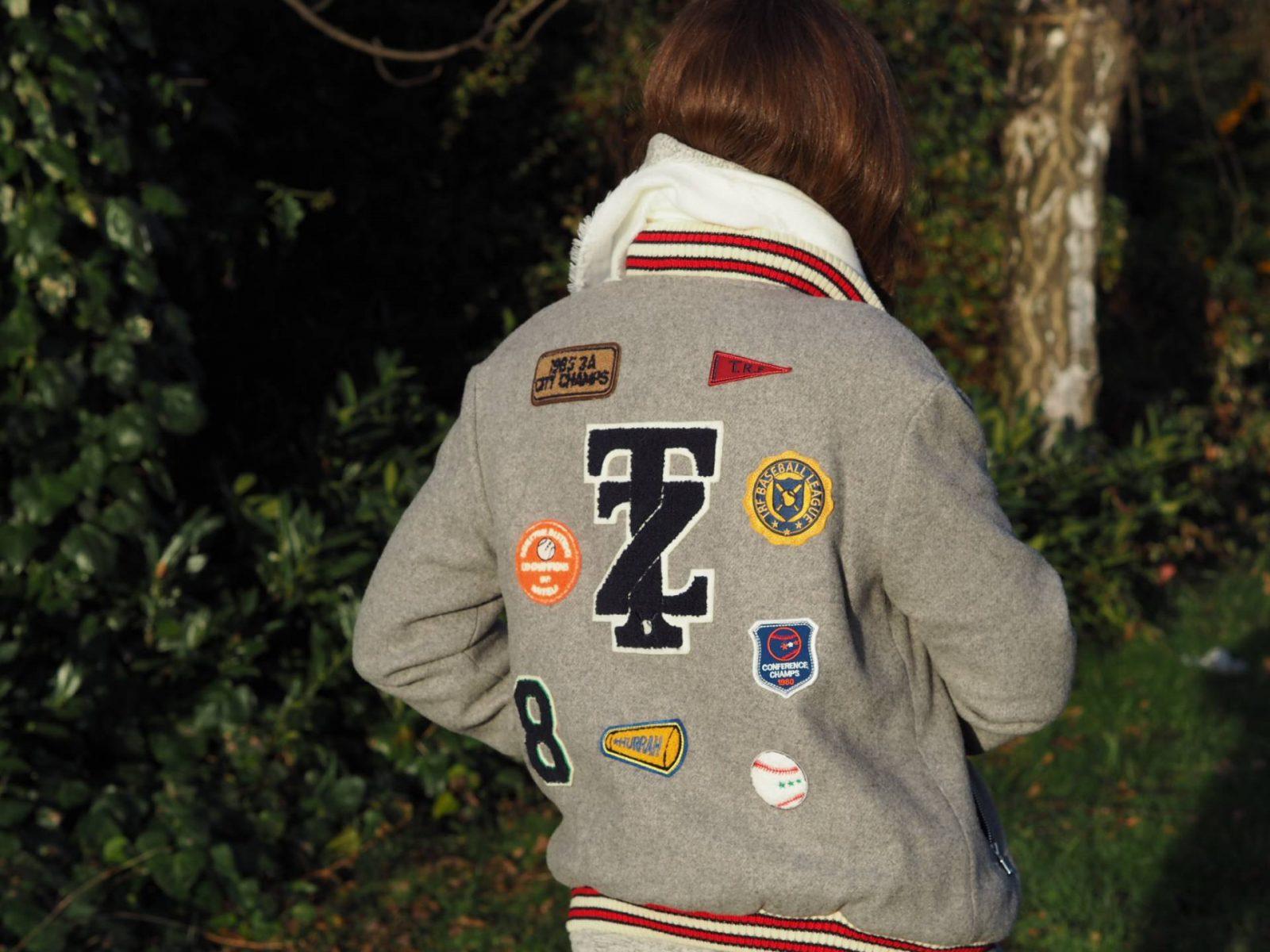How To Wear A Letterman Jacket | Megan Taylor