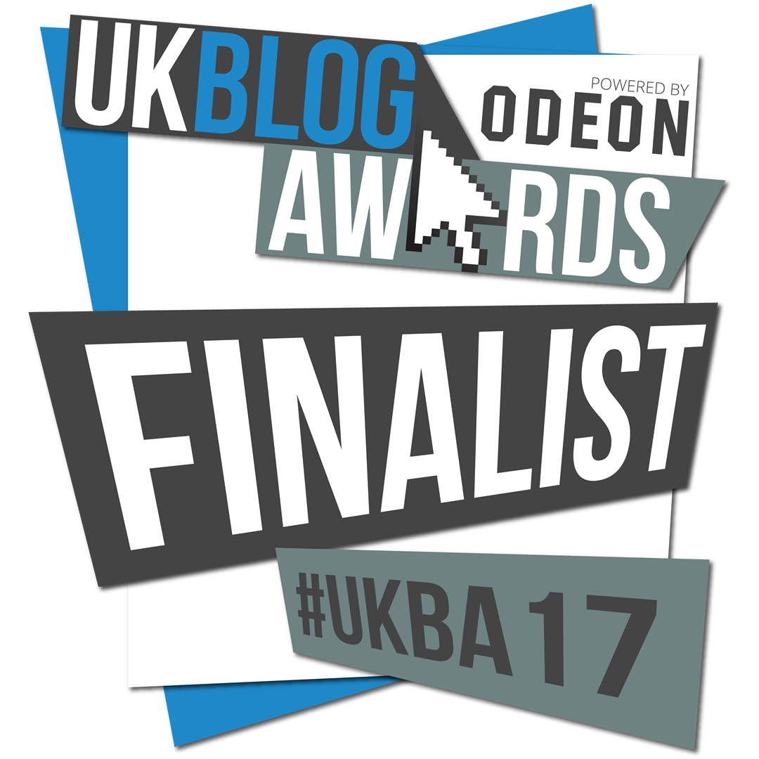 Finalist Of The UK Blog Awards 2017 | Megan Taylor