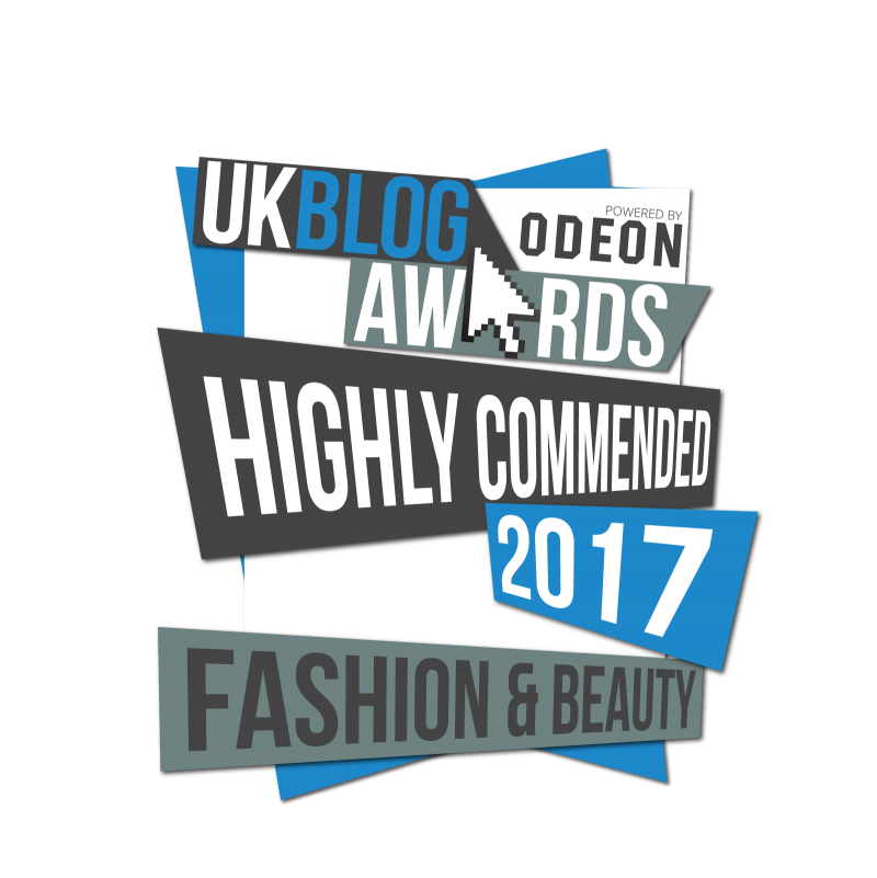 UK Blog Awards 2017 | Megan Taylor