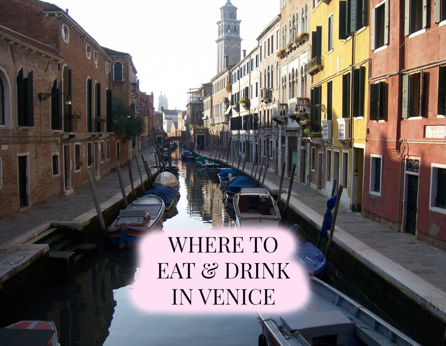 Where To Eat And Drink In Venice | Megan Taylor