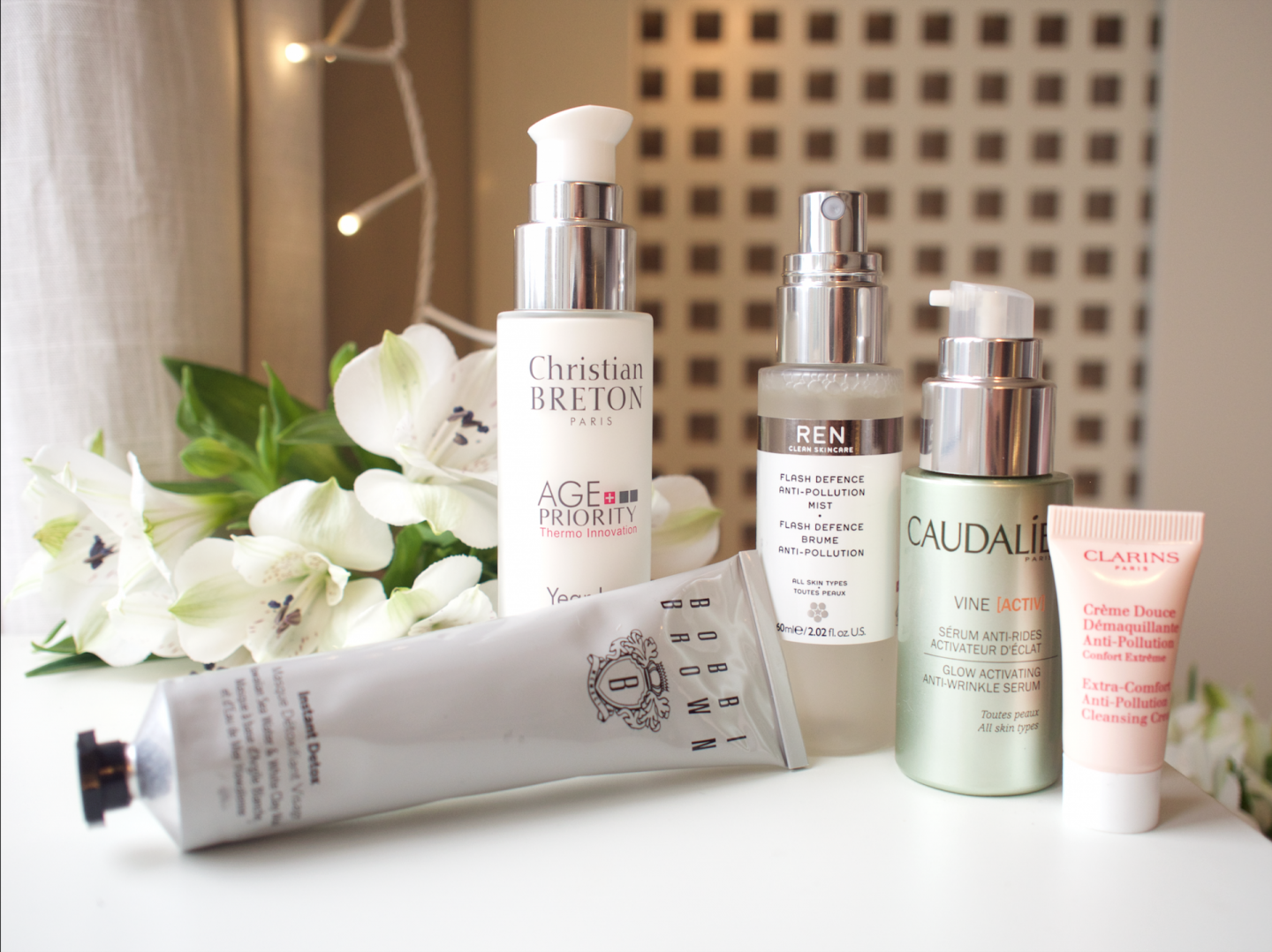 FIGHT POLLUTION WITH THESE BEAUTY PRODUCTS