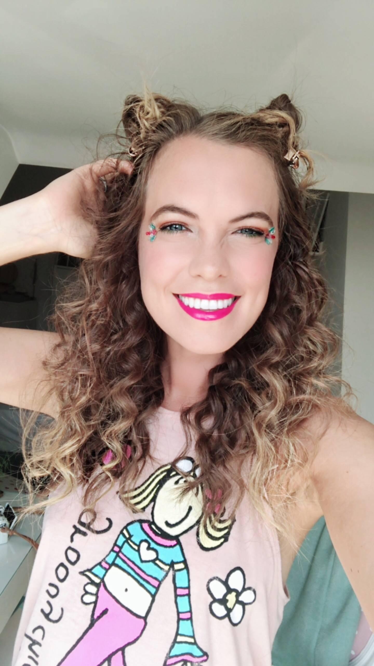 90s FESTIVAL HAIR AND MAKE UP | Megan Taylor