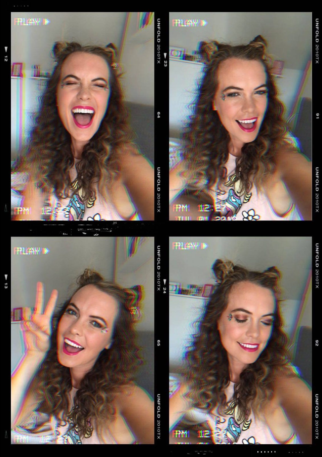 90s FESTIVAL HAIR AND MAKE UP | Megan Taylor